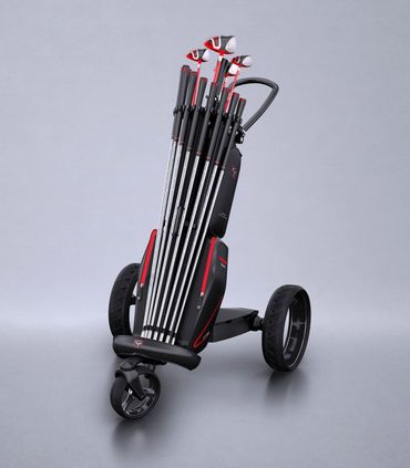 Decolt - Golfbag/Trolley Kombination  – Bild 5