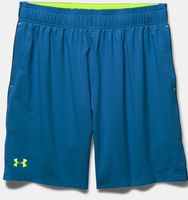 "Under Armour Herren Stretch Elasthan Sport Freizeit Shorts UA Mirage 8"" Blau NEU"