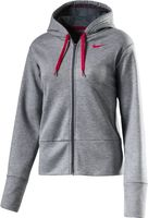 Nike Dry Training Damen Hoodie Kapuzenpullover Sweat- Trainingsjacke Grau Neu – Bild 1
