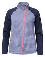 Icepeak Kaley Damen Thermostretch Midlayer Skirolli Unterjacke Grau/Blau Neu