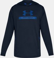 Under Armour Herren MK-1 Terry Graphic Hoodie Kapuzensweater Sweatshirt Blau Neu – Bild 1