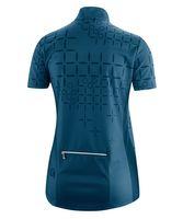 Gonso Damen Bikeshirt Loure Half Zip Fahrradtrikot T-Shirt Blau Neu – Bild 2