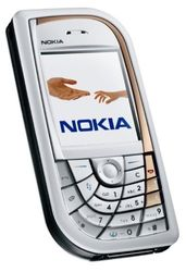 Nokia 7610 white Handy