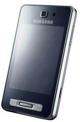 Samsung SGH-F480 Smartphone (Touchscreen, 5MP Kamera, UMTS, HSDPA) ice silver