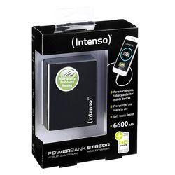 Intenso Powerbank ST6600 Soft Touch externes Ladegerät (6600mAh) Neu