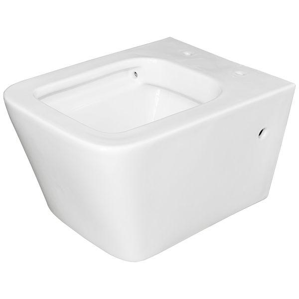 Wall Hung Mounted Toilet Bowl Pan without Rim WC Bathroom Sanlingo – Bild 1
