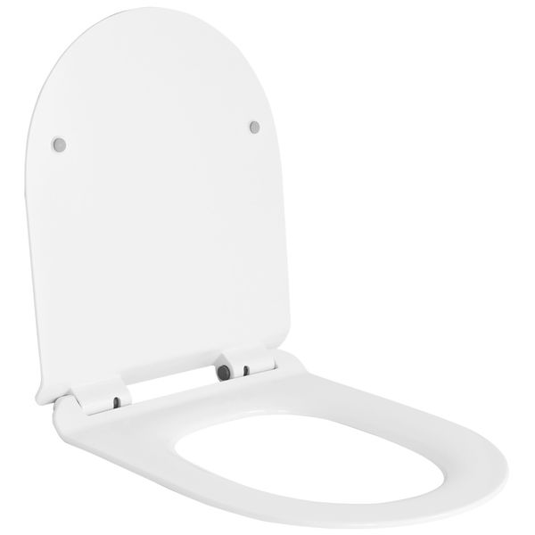 Softclose WC Deckel Toilettendeckel Toilettensitz WC Sitz Klobrille Toilette Sanlingo Rund – Bild 1