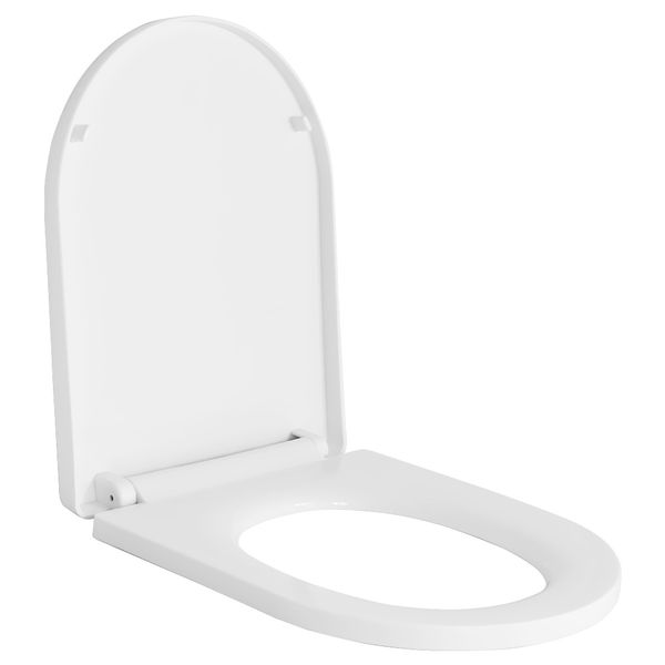 Softclose WC Deckel Toilettendeckel Toilettensitz WC Sitz Klobrille Sanlingo Toilette Rund – Bild 1