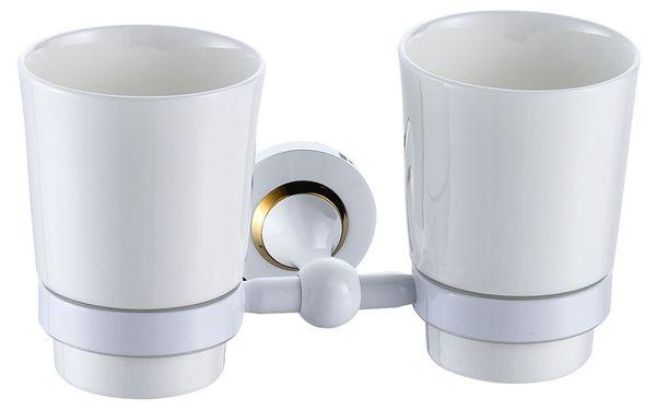 2 Toothbrush Tumbler Mugs Double Toothbrush Holder Bath Accessories Sanlingo – Bild 1