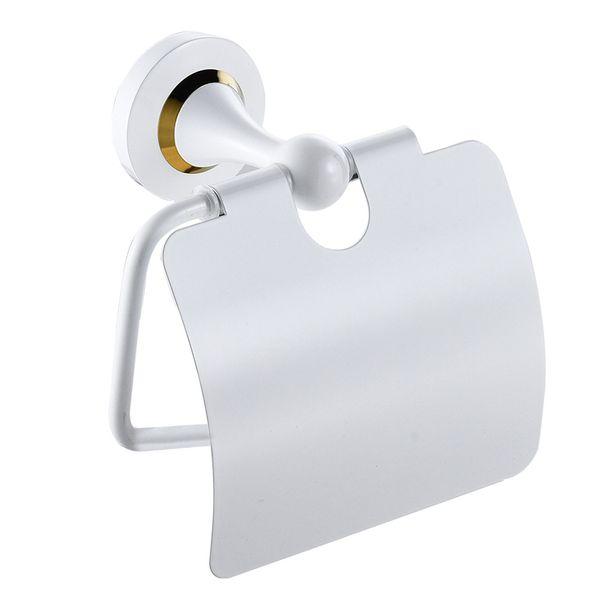 Luxus Toilettenpapierhalter Toilettenpapier Halter Wandmontage Weiß Gold Sanlingo