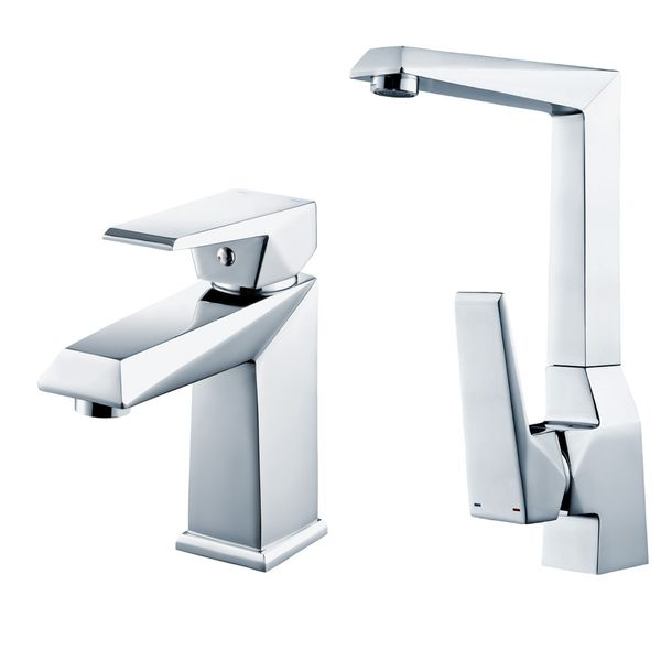 Tap Faucet Sink Mixer Tap Bathroom Kitchen Sink Selection Sanlingo – Bild 1