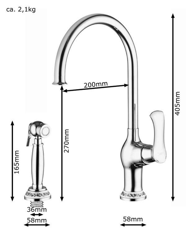 Tap Faucet Sink Mixer Tap Bathroom Shower Sink Selection Sanlingo – Bild 14