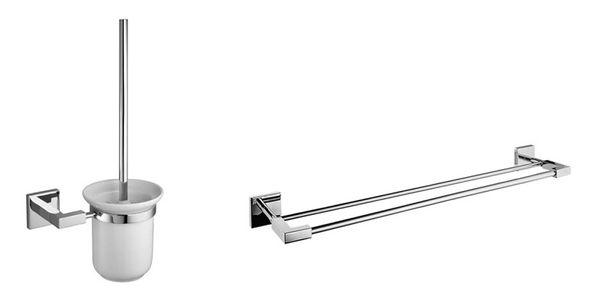 Retro Toilettenpapier Bürste Handtuch Halter Badzubehör Seife Zahnbürste Bronze