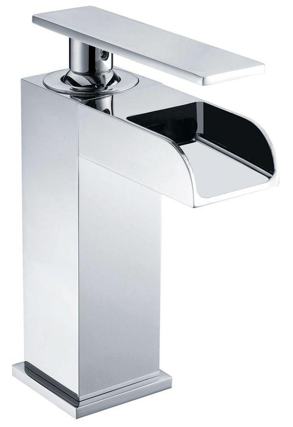Armatur Wasserhahn Mischbatterie Bad Badewanne Unterputz Waschbecken Wasserfall Auswahl Sanlingo – Bild 5