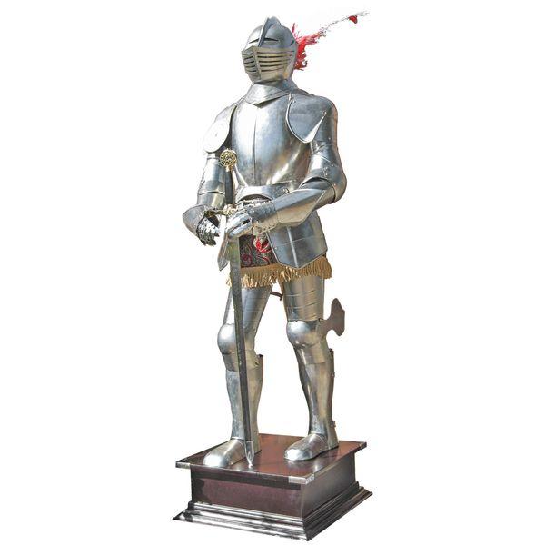 Tragbare Ritterrüstung Turnierrüstung mit Schwert 185cm – Bild 1