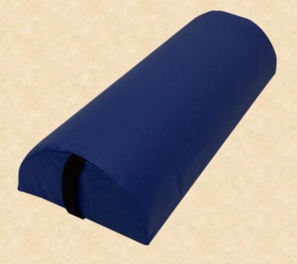 Halbrolle Knierolle Nackenrolle Massage Therapie Rolle blau – Bild 1