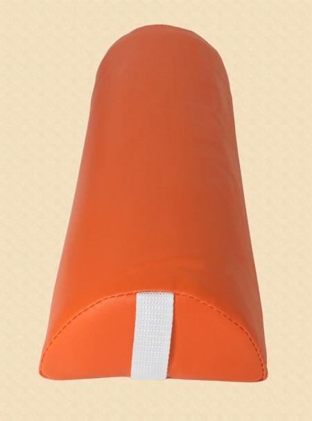 Halbrolle Knierolle Nackenrolle Massage Therapie Rolle orange – Bild 1