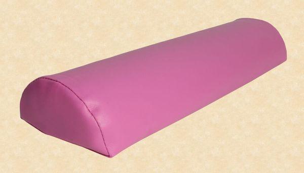Halbrolle Knierolle Nackenrolle Massage Therapie Rolle pink rosa fuchsia – Bild 7