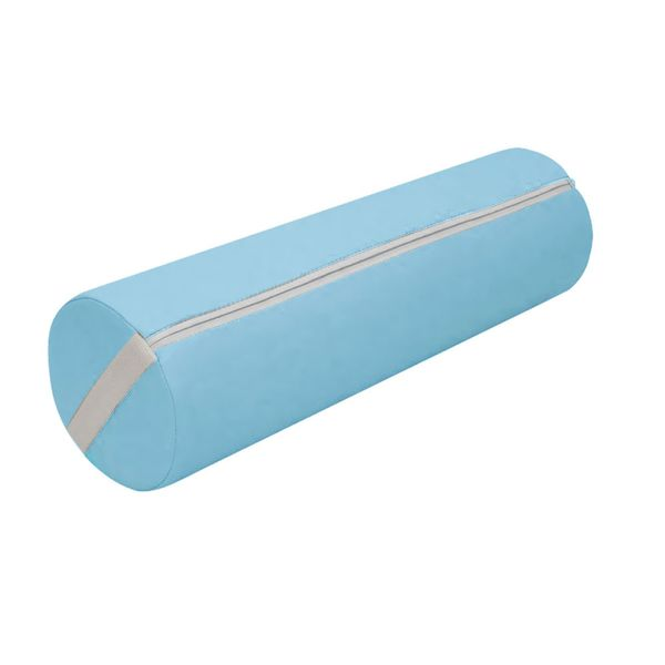 Knierolle Nackenrolle Massage Therapie Rolle Lagerungsrolle hellblau
