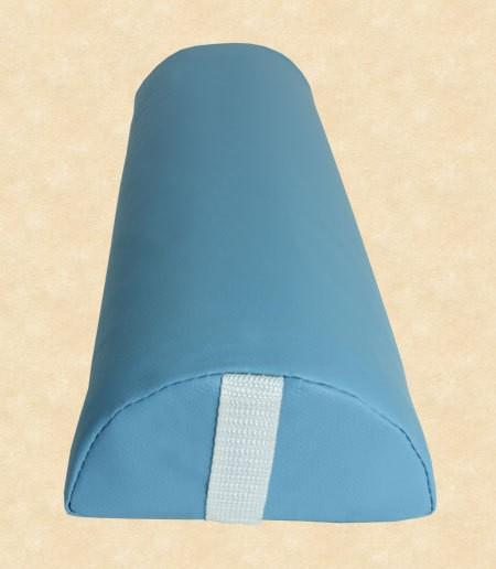 Halbrolle Knierolle Nackenrolle Massage Therapie Rolle hellblau babyblau – Bild 1