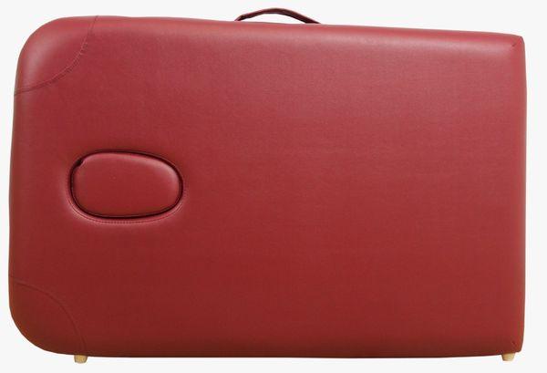 Massageliege / Massagebank ALU, nur 10kg, mit viel Zubehör, Topqualität, rot – Bild 4