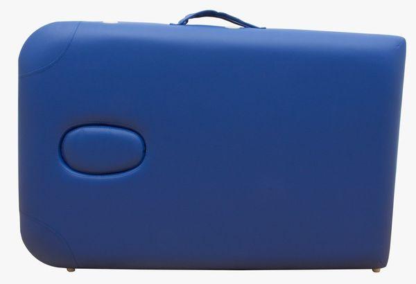 Massageliege / Massagebank ALU, nur 10kg, mit viel Zubehör, Topqualität, Blau – Bild 5