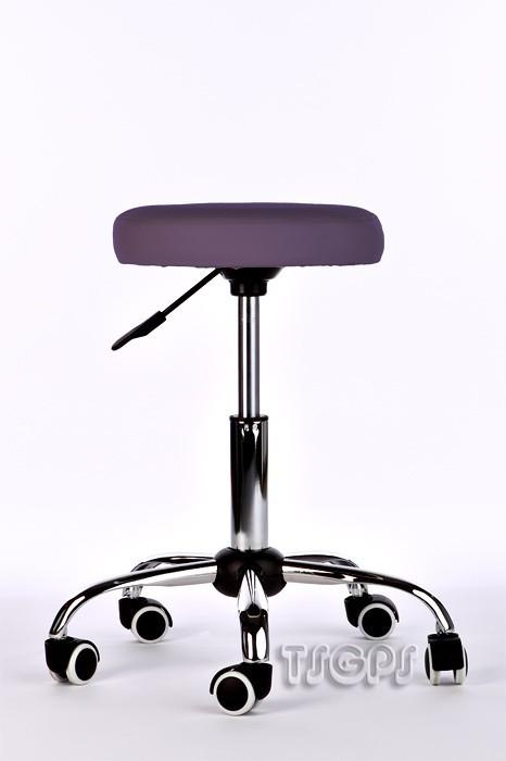 Kosmetik Arbeitshocker Massage Hocker , höhenverstellbar, lila – Bild 2