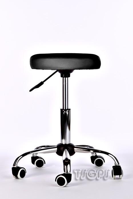 Kosmetik Arbeitshocker Massage Hocker , höhenverstellbar, schwarz – Bild 1