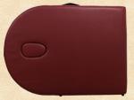 Reiki Massageliege / Massagebank, Oval - Rund, mit viel Zubehör, rot – Bild 8
