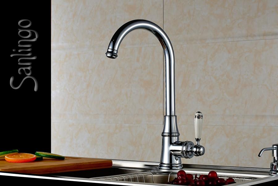 landhaus k che sp lbecken einhebel armatur keramik griff. Black Bedroom Furniture Sets. Home Design Ideas
