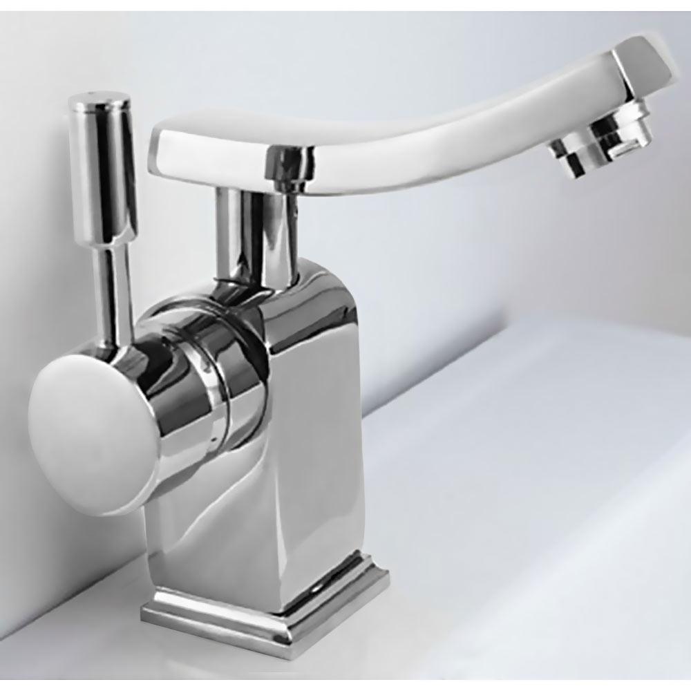 Modern Design Einhebel Badezimmer Bad Armatur Waschbecken Chrom
