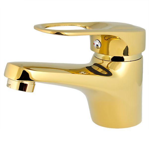 Waschbecken Einhebel Armatur Klassisch Gold Wasserhahn Serie Sila – Bild 2
