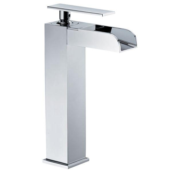 Design Bath Bathroom Washbasin Washstand Single Lever Water Tap Chrome Sanlingo YLA Series – Bild 1