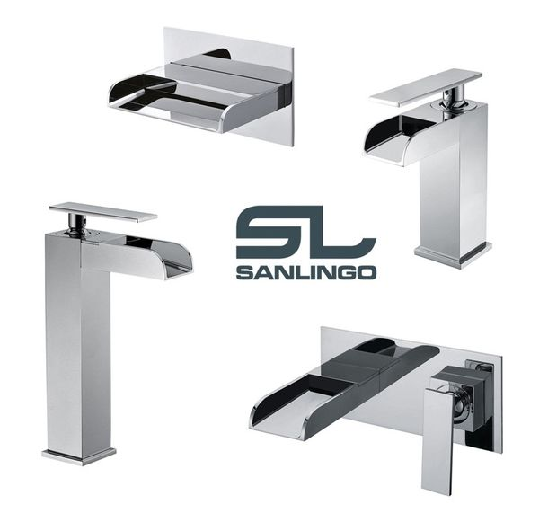 Concealed Flush-Mounting Bath Wash Basin Water Tap Wall Mounting Chrome Sanlingo YLA Series – Bild 3