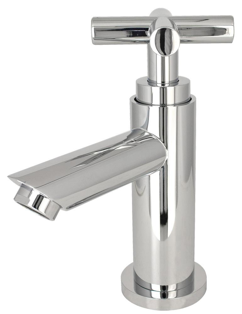 Sanlingo Kaltwasser Armatur Kreuzgriff chrom 1/2-Zoll, für Gäste-WC ...