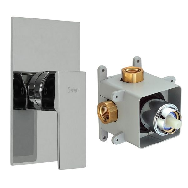 Concealed Shower Valve 1 way incl. Box from Sanlingo Chrome – Bild 2