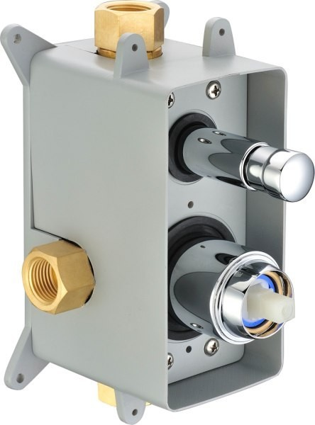 Concealed Shower Valve Diverter 2 way incl. Box from Sanlingo – Bild 4