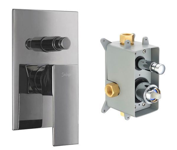 Concealed Shower Valve Diverter 2 way incl. Box from Sanlingo – Bild 1