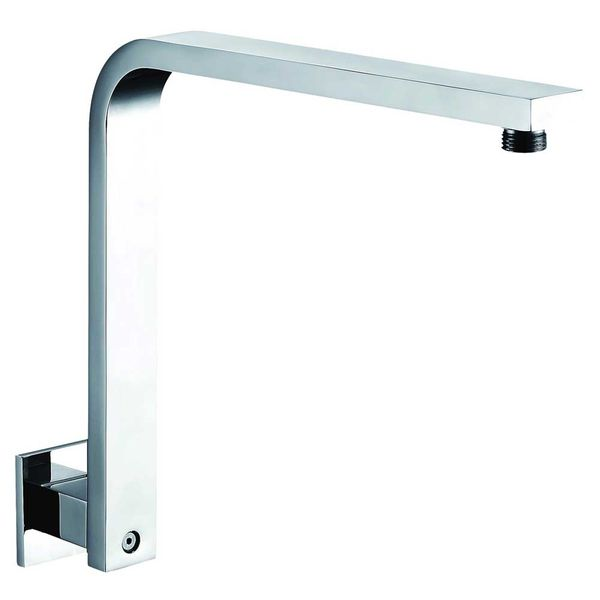 Angle Over Head Shower Arm Wall Mounting Chrome Chromed Brass 31cm Sanlingo – Bild 1