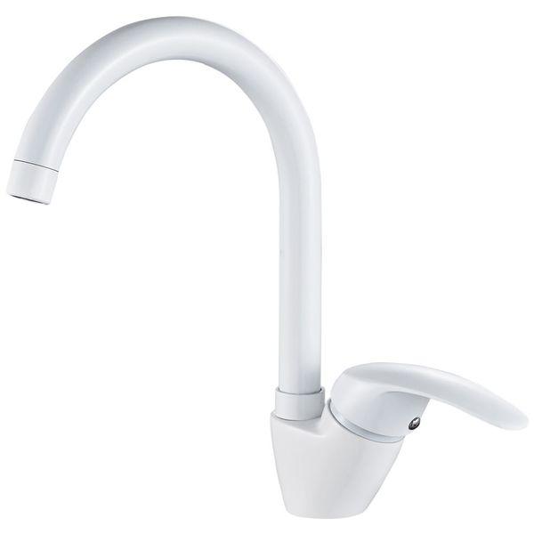 Sanlingo Modern Design White Kitchen Sink Water Tap Rotatable  – Bild 1