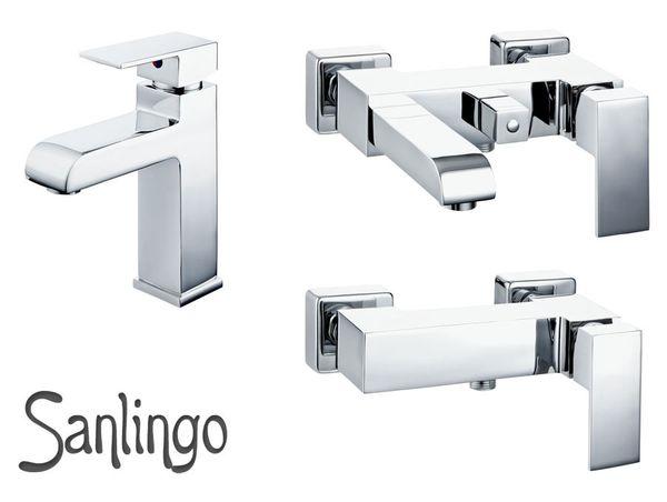 Bagno Doccia Miscelatore Monocomando Rubinetto Cromo Sanlingo Serie ALIS – Bild 2