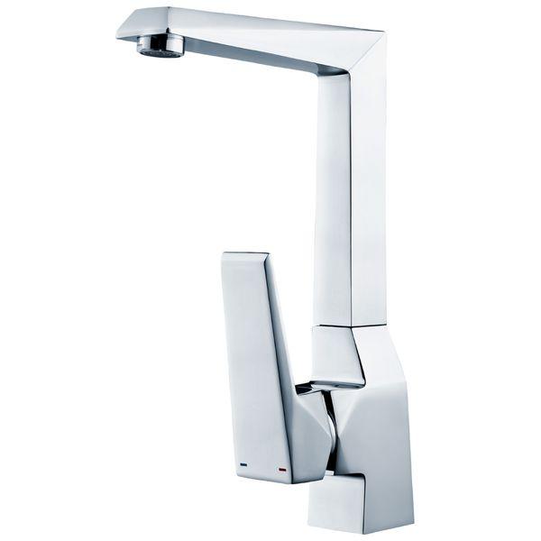 Modern Bad Waschtisch Waschbecken Wasserhahn Armatur Einhebel Schwenkbar Chrom Sanlingo Serie KOSI – Bild 1