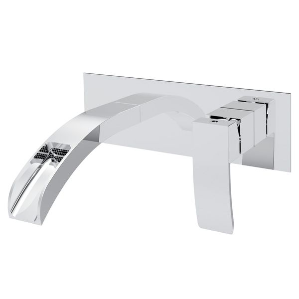 Concealed Flush-Mounting Bath Wash Basin Water Tap Wall Mounting Chrome Sanlingo Waterfall LUZI Series – Bild 1