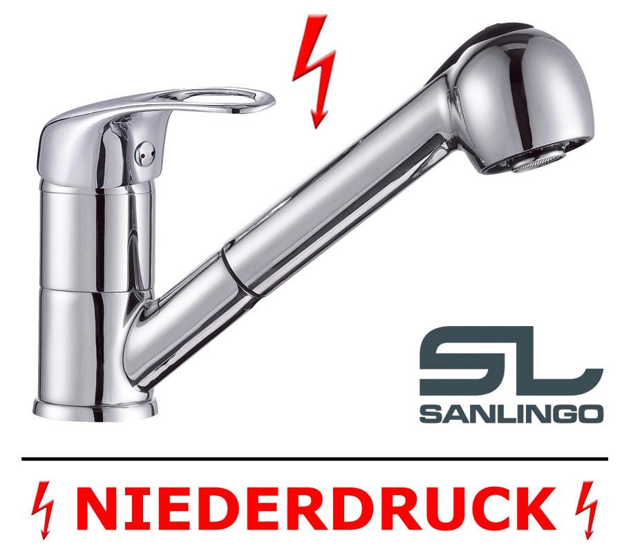 Moderne Niederdruck Küche Spüle Spülbecken Einhandmischer Armatur ...