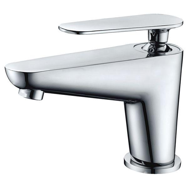 Modern Classic Design Bathroom Single Lever Water Tap Wash Bowl Basin Chrome Sanlingo – Bild 1