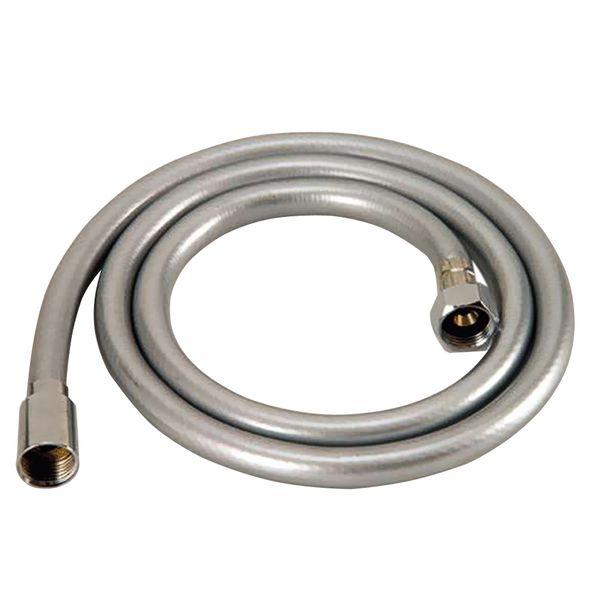Shower Hose PVC Flexible 200cm 2m Silver Sanlingo Anti Twist