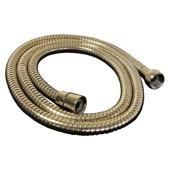 Flexibler Brauseschlauch Dusche Schlauch 125 cm Gold Metall Sanlingo – Bild 2