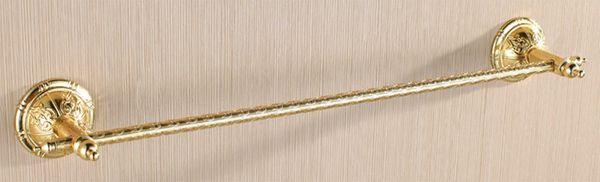 Handtuchstange Handtuch Halter Einfach Wandmontage Sanlingo Gold Serie BS2
