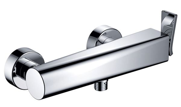 Modern Design Bath Shower Single Lever Tap Mixer Chrome Sanlingo JARO – Bild 1