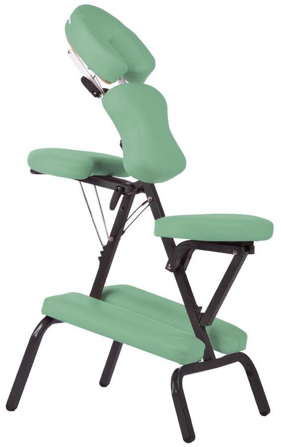 Massagestuhl mit Tasche Grün Hellgrün Zusammenklappbar TSGPS Kingpower – Bild 1